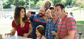 Adam Sandler Salma Hayek Grown Ups 2