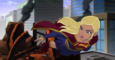 Supergirl Flying Supperman Unbound