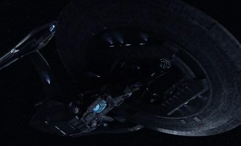 Star Trek into Darkness USS Vengeance Dreadnought class ship