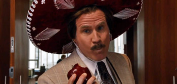 Will Ferrell Anchorman The Legend Continues