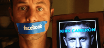 Kirk Cameron Facebook Unstoppable