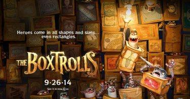 The Boxtrolls Quad Movie Poster