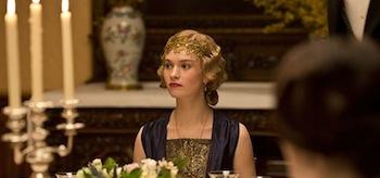 Lily James Downton Abbey