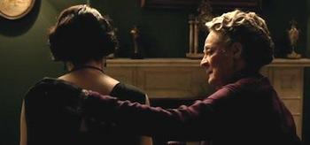 Michelle Dockery Maggie Smith Downton Abbey