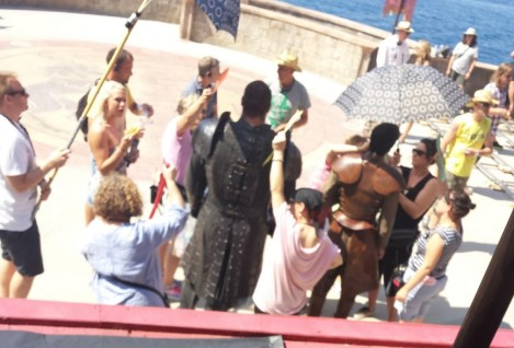 Gregor Clegane Hafthor Bjornsson Oberyn Martell Pedro Pascal Game of Thrones