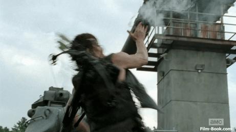 Norman Reedus Grenade Tank Turret The Walking Dead Too Far Gone