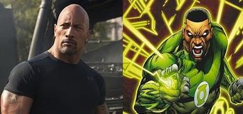 Dwayne Johnson Green Lantern