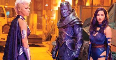 Oscar Isaac Alexandra Shipp Olivia Munn X Men Apocalypse