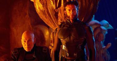 Patrick Stewart Hugh Jackman X-Men Days of Future Past