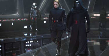 Domnall Gleeson Adam Driver Gwendoline Christie Star Wars The Force Awakens
