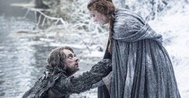 Alfie Allen Sophie Turner Game of Thrones Season 6