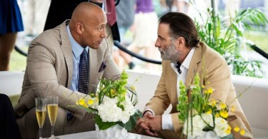 Dwayne Johnson Andy Garcia Ballers Enter the Temple