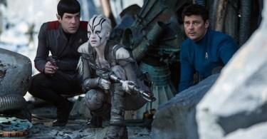 Zachary Quinto Sofia Boutella Karl Urban Star Trek Beyond
