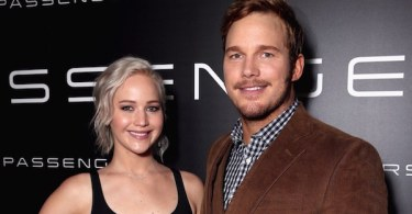 Jennifer Lawrence Chris Pratt Passengers