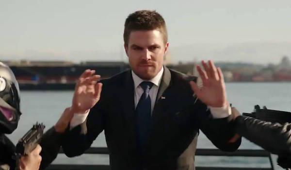 ARROW: Season 5 'Take Care' Promo: Stephen Amell Faces New Adversaries [The CW]