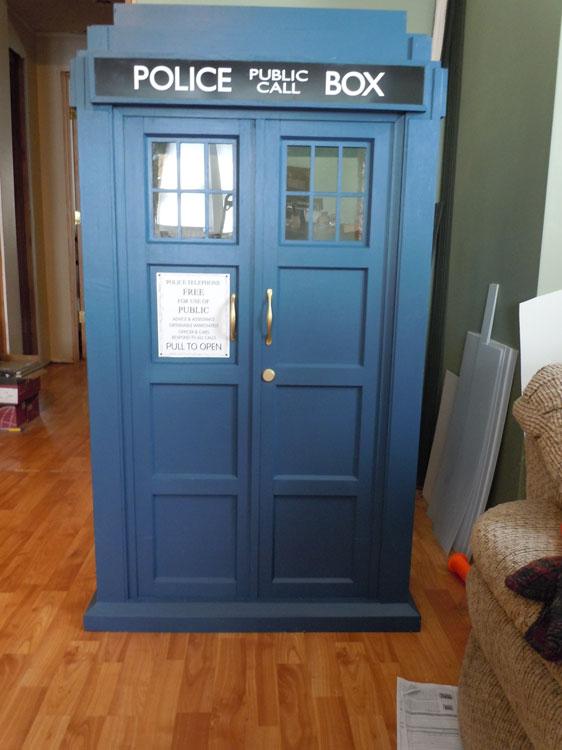 doctor who tardis diy - photo #12