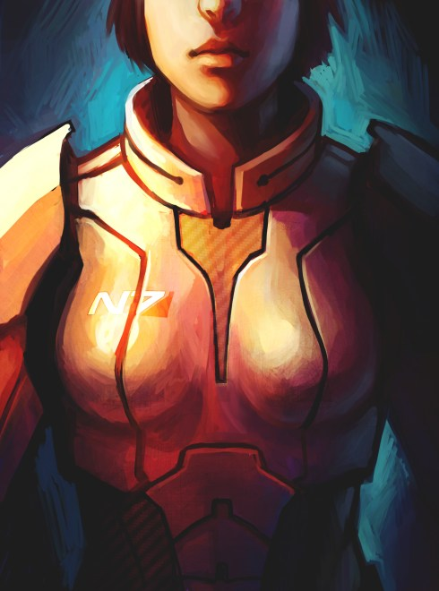 FemShep Commander Shepard