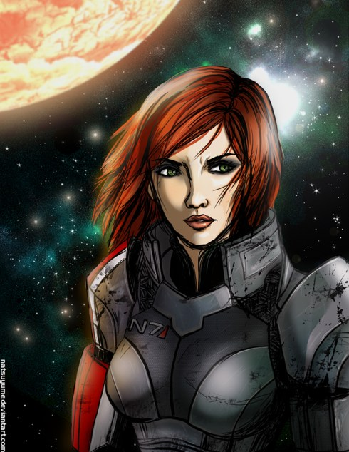 Natsuyume Commander Shepard