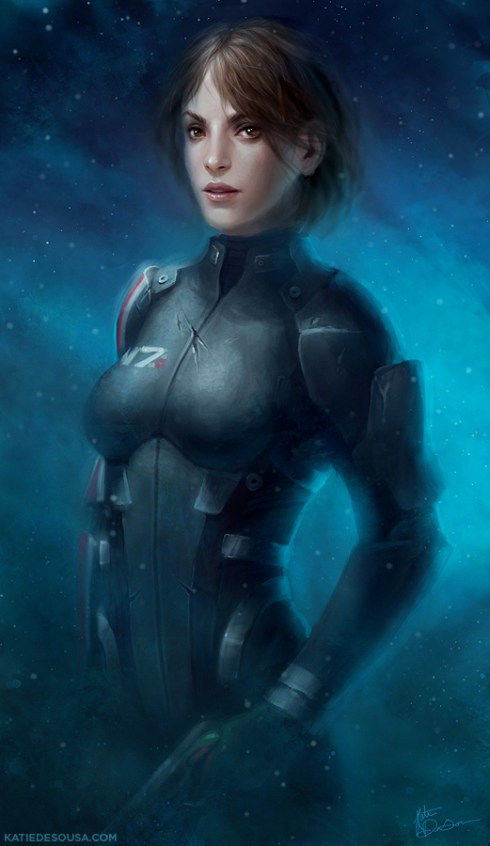 Yumedust Commander Shepard FemShep