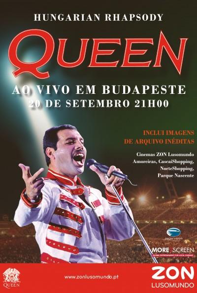 Poster do filme Hungarian Rhapsody: Queen Ao Vivo em Budapeste '86