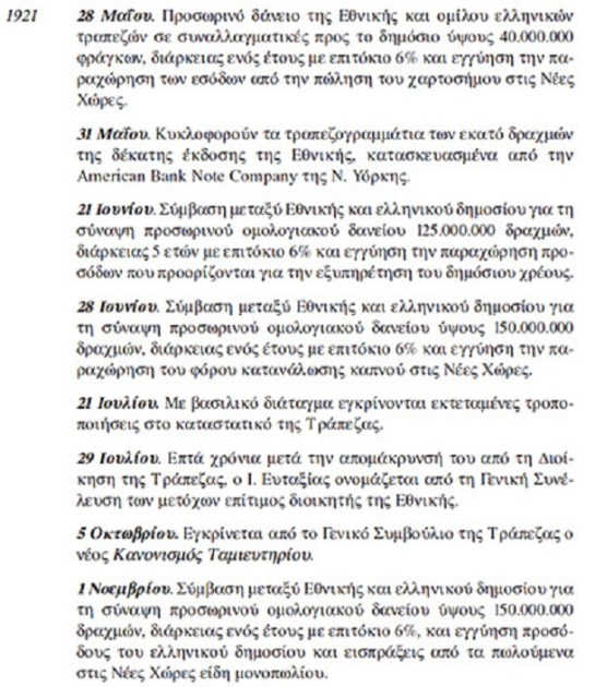 Rothschild κι Ἐθνικὴ τράπεζα.109