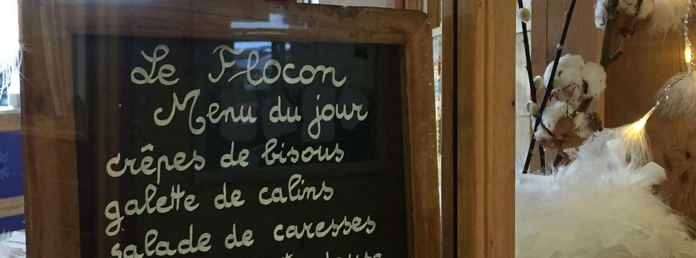 """Tableau """"Le flocon"""", amour"""