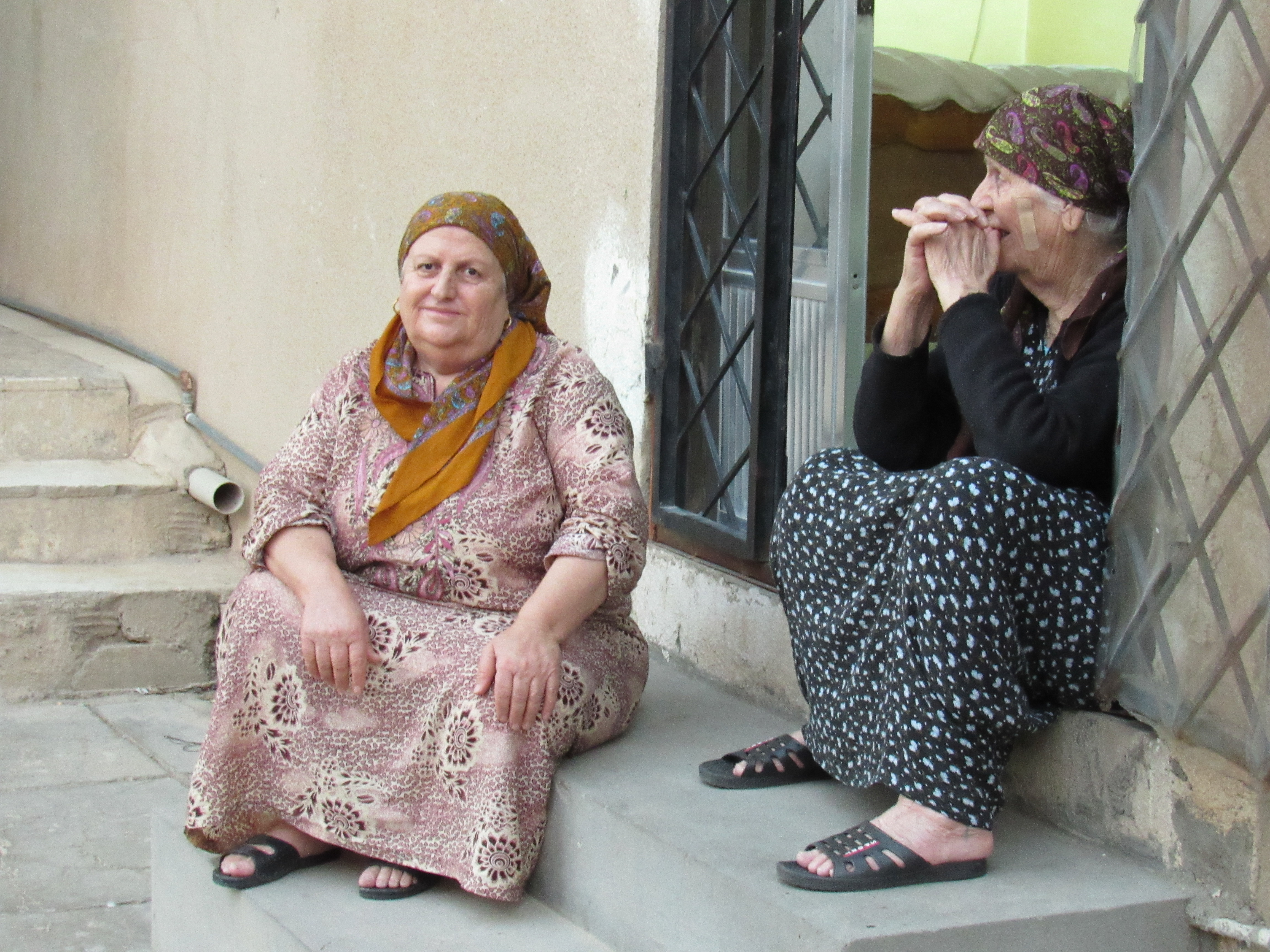 Faces of the Displaced (Adults)