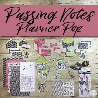 Passing Notes - Planner Pop - Product