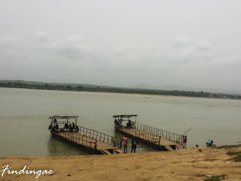 River Niger and River Benue