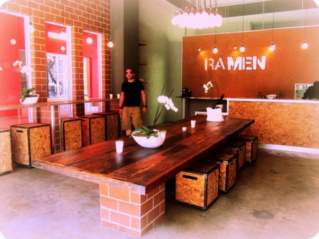 Inside Ramen