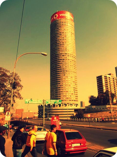 Ponte Tower in the heart of Hillbrow