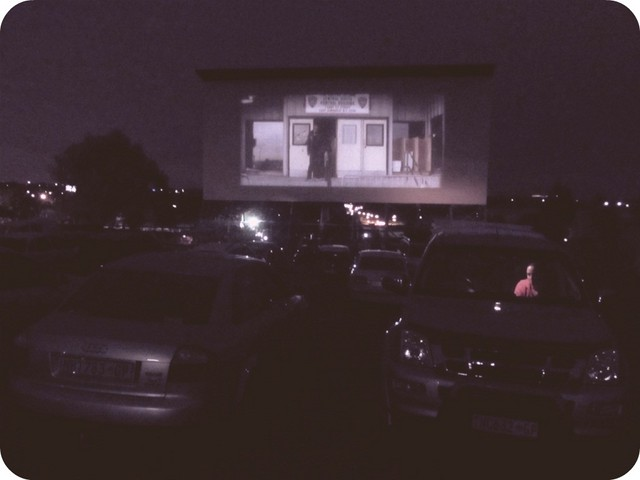 Trailers at Velskoen Drive-in