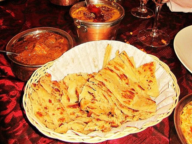 Kerala paratha and Kasturi chicken at Thava in Midrand