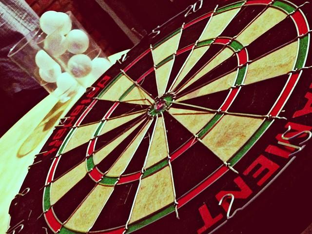 Puma Social Club dart board