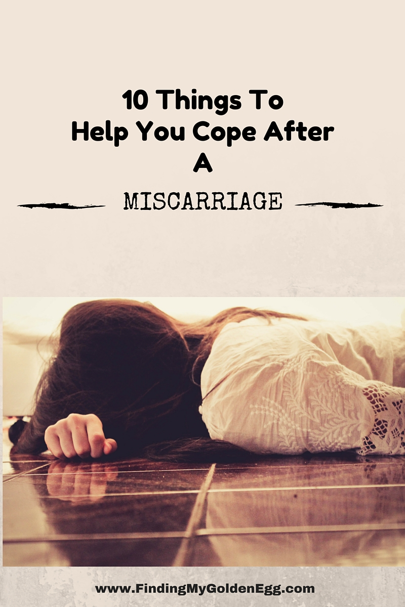 10 Things To Help You Cope After A Miscarriage