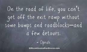 oprah bump in road