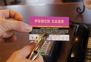 My Surgery Punch Card – Another Bump In The Road In My Infertility Journey