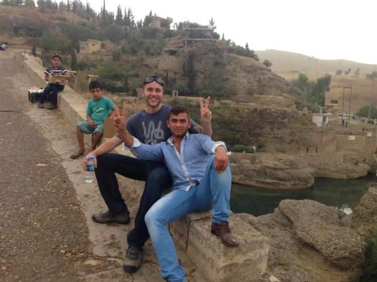 travel backpacking Iraq street food