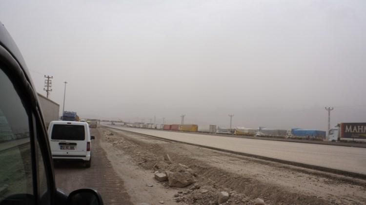 Overland Turkey to Iraq Border