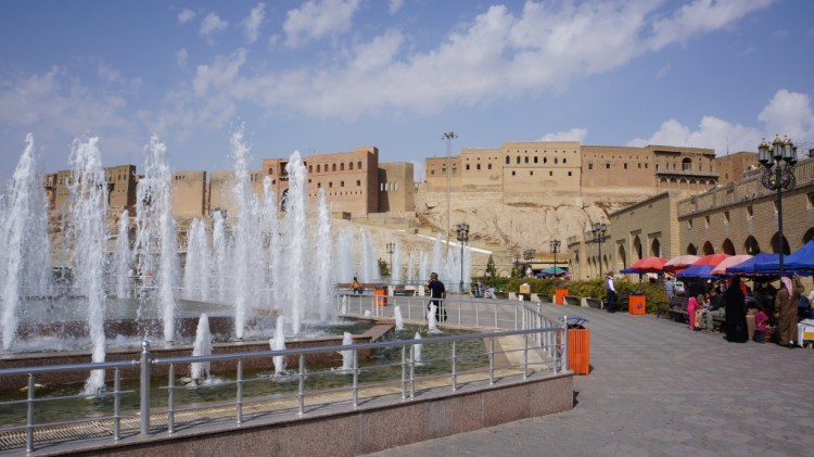 what to do in Erbil Iraq backpacking travel