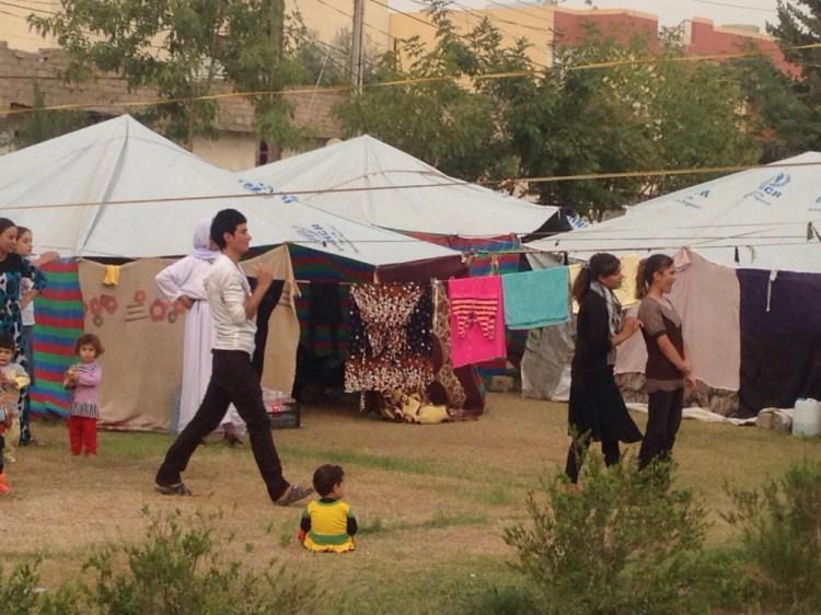 Zahko Iraq Refugee Camp