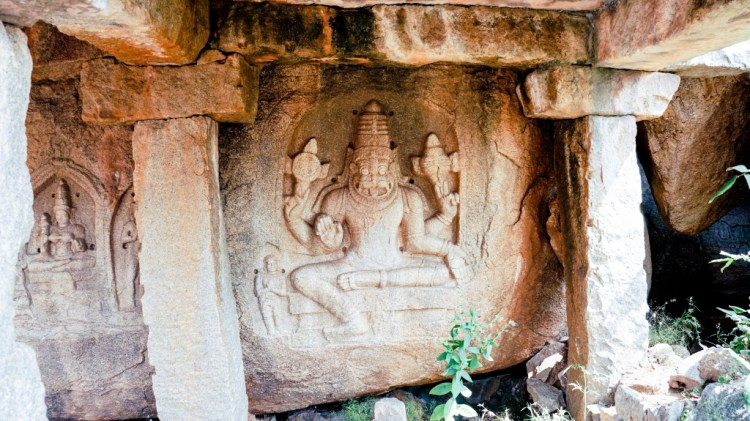 things to do in hampi rock carving