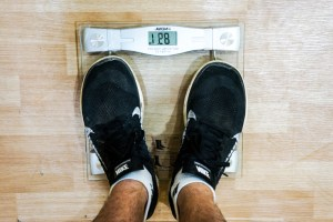 losing weight while travelling
