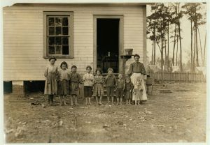 Young family of Tifton GA by Lewis Hine
