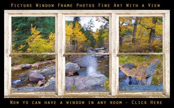 Picture Window Frame Photos Art with a view