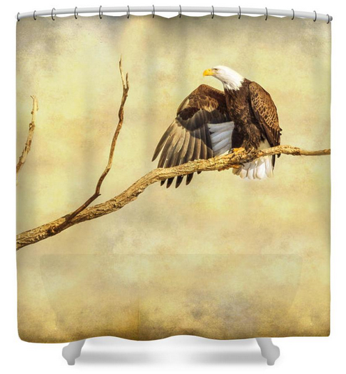 Majestic Eagle Point Shower Curtain
