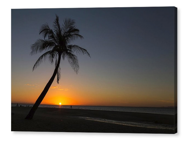 Bantayan Sunrise Canvas Print
