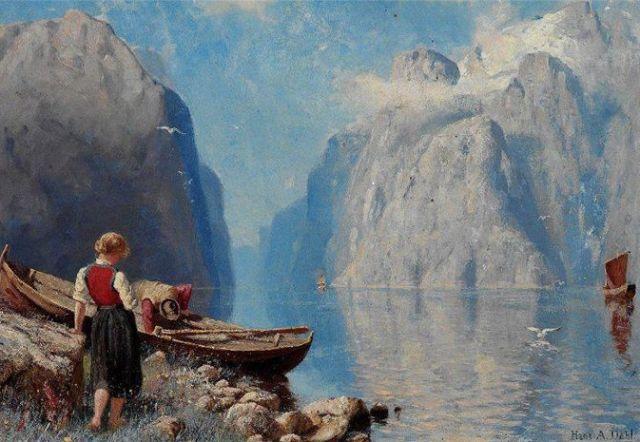 Hans_Dahl_landscape_painting