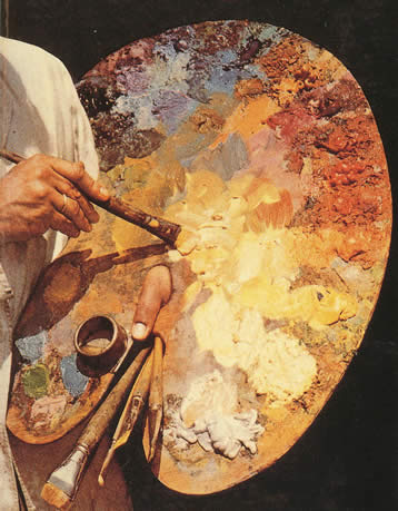 How to Oil Paint on Canvas-Lesson 1