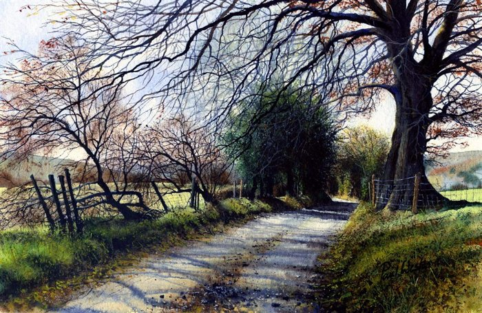 Amazing Examples of Landscape Watercolor Paintings - Fine Art Blogger